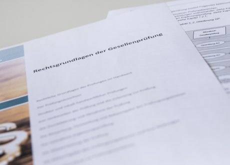 Rechtsgrundlagen der Gesellenprüfung