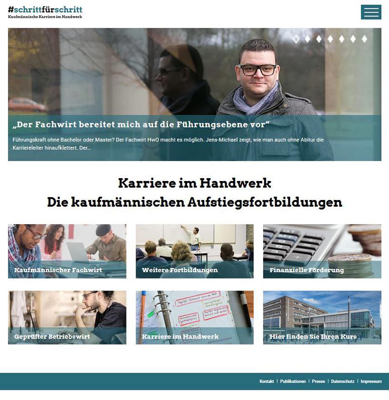 Internetportal aufstieg-im-handwerk.de