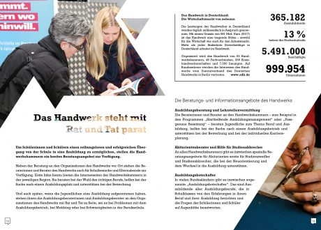 Berufsorientierung an Gymnasien: Infobroschüre für Lehrkräfte