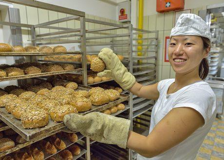 In der Bäckerei