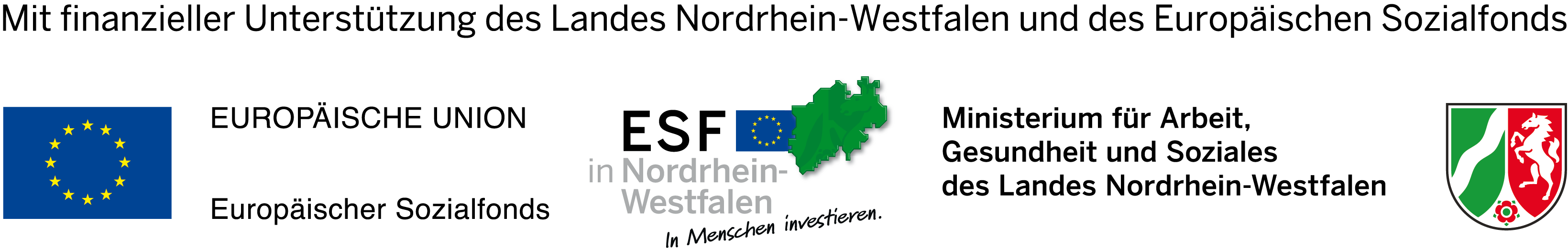 Förderleiste handfest - MAGS NRW
