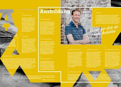 """handfest-Ausgabe """"ABC der Ausbildung"""""""